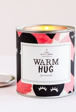 The Gift Label Geurkaars small-Warm Hug (jasmin vanilla)