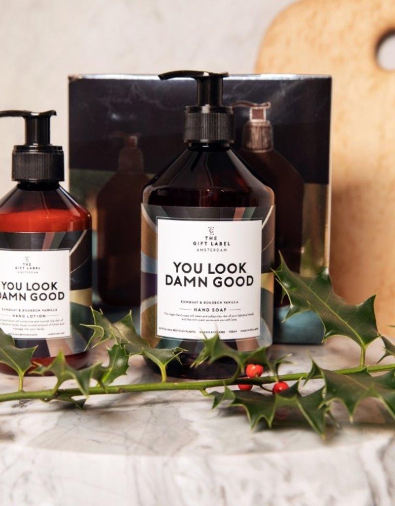 The Gift Label Xmas Giftbox-You look damn good (handzeep+handlotion)