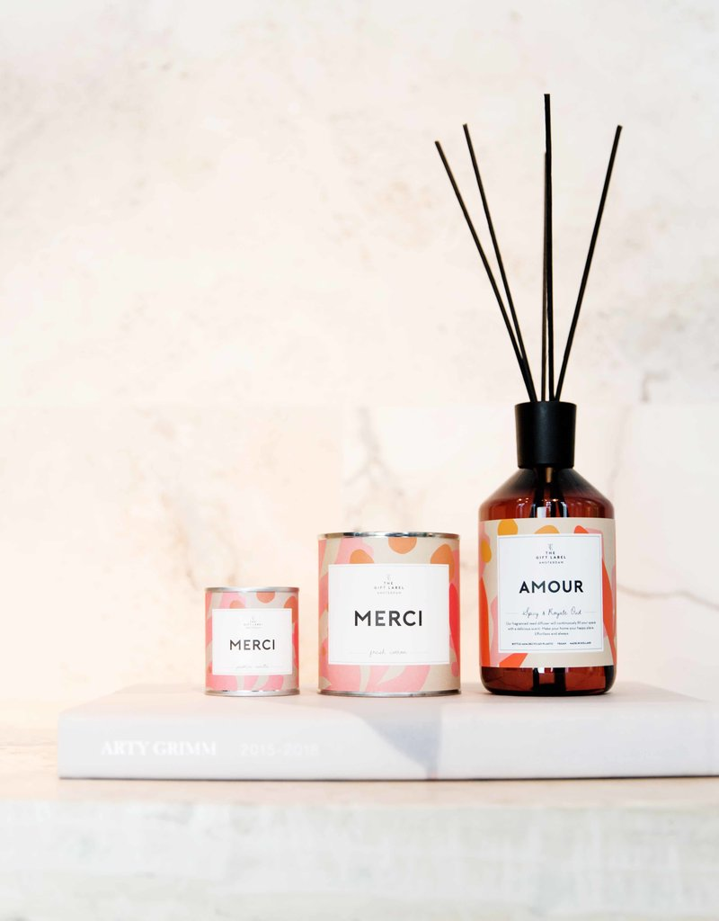 The Gift Label Home Reed Diffuser-Amour (spicy & royal oud)