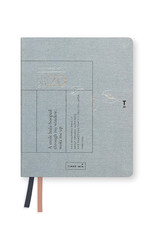 Tinne+Mia Agenda Linen A6-dusty blue