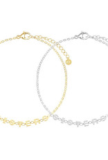 My Jewelry Armband SET Sisters-mix gold/silver