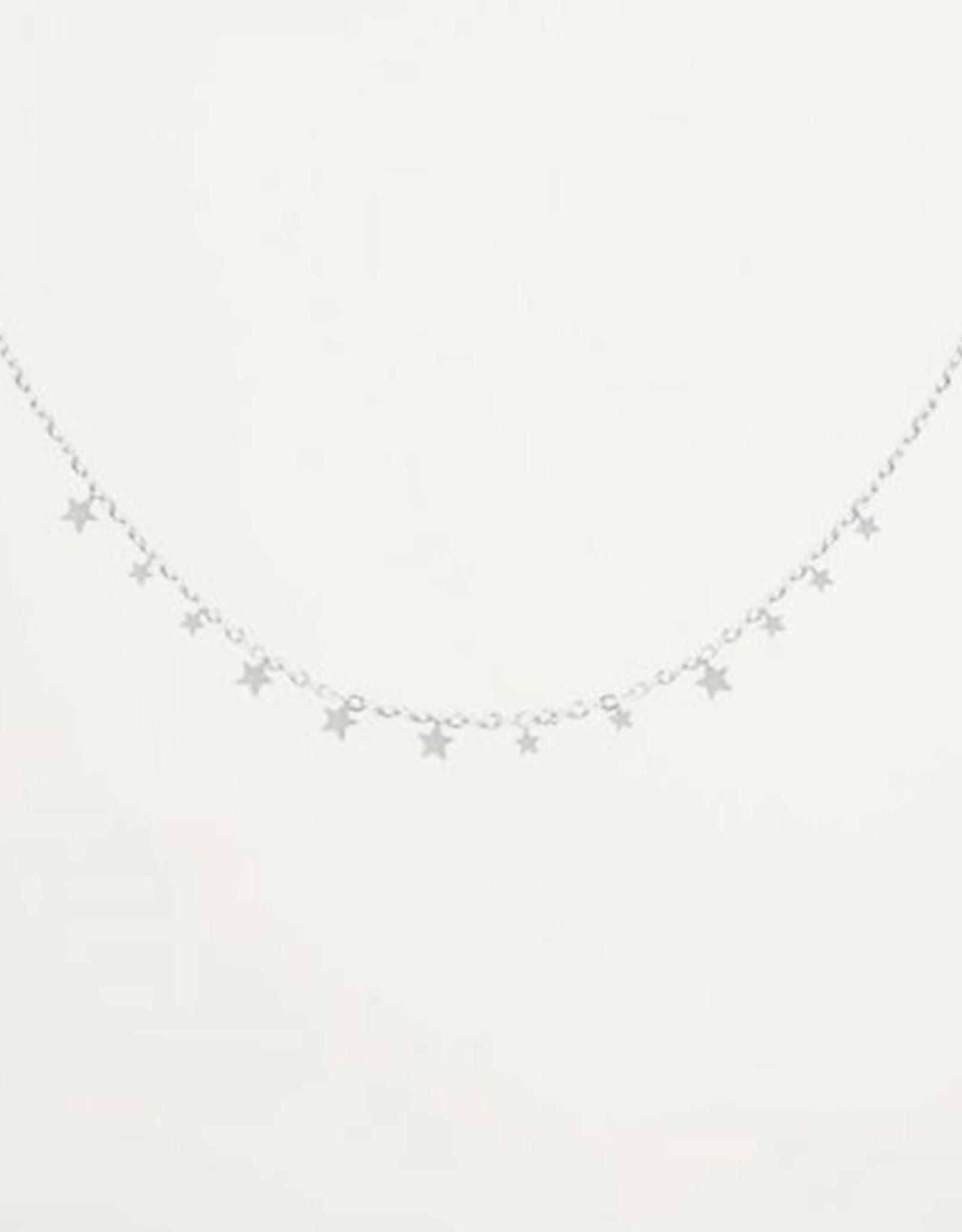 My Jewelry Ketting Little Stars-silver