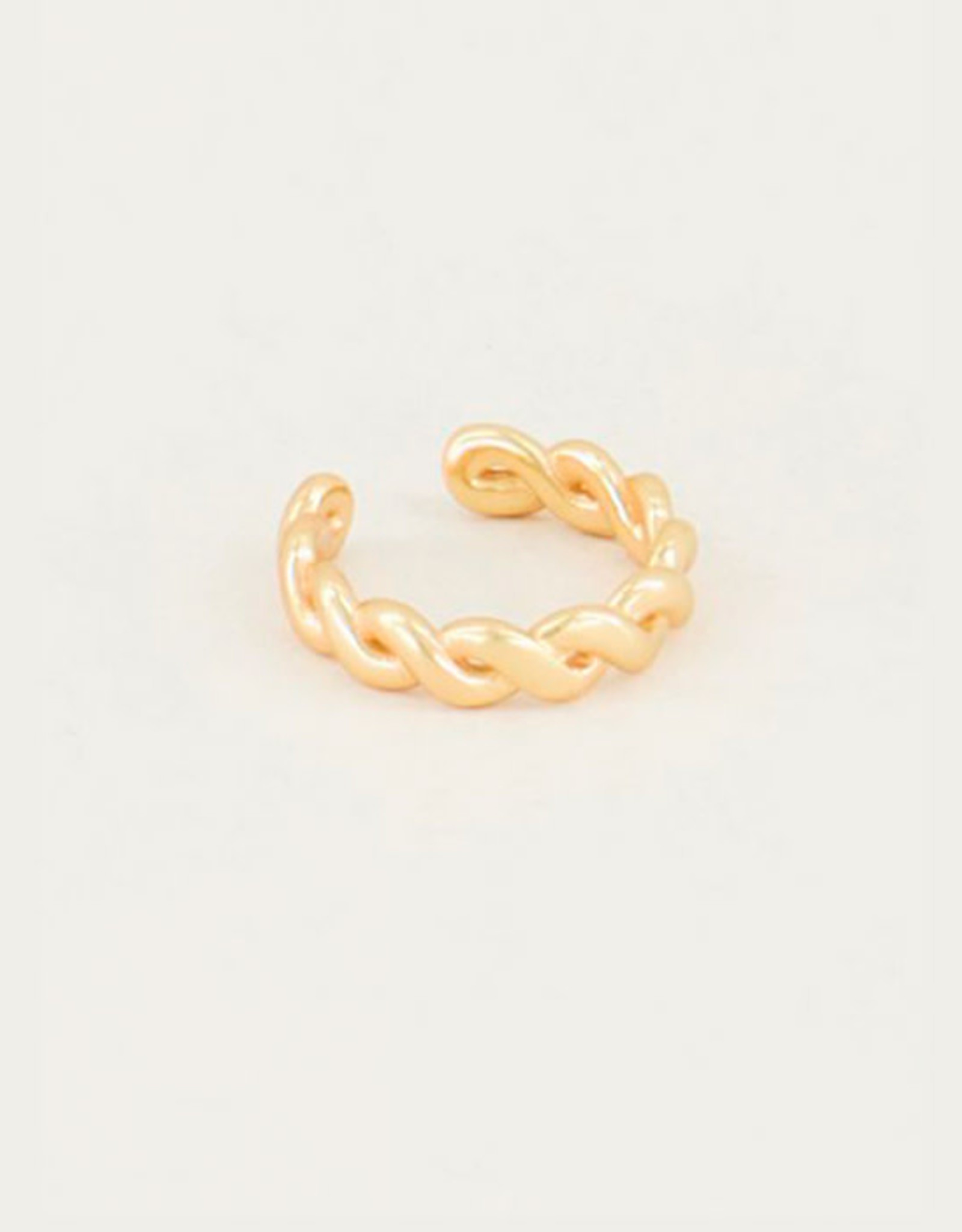 My Jewelry Earcuff Braid-gold