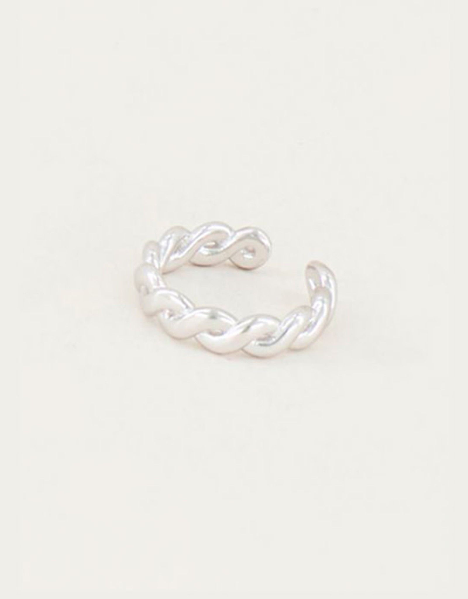 My Jewelry Earcuff Braid-silver