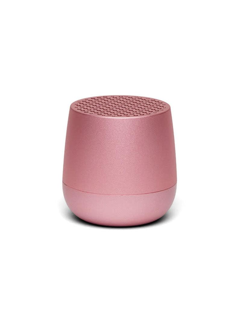 Lexon Mino geluidsbox-soft roze