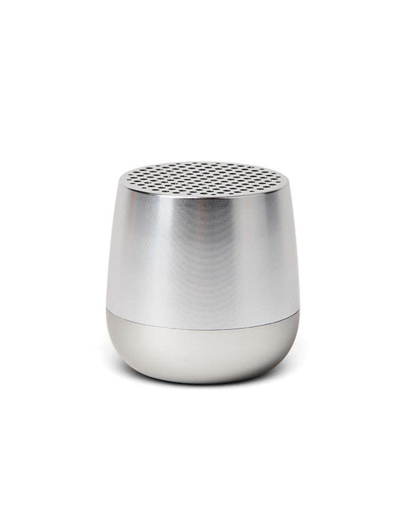 Lexon Mino geluidsbox-silver alu
