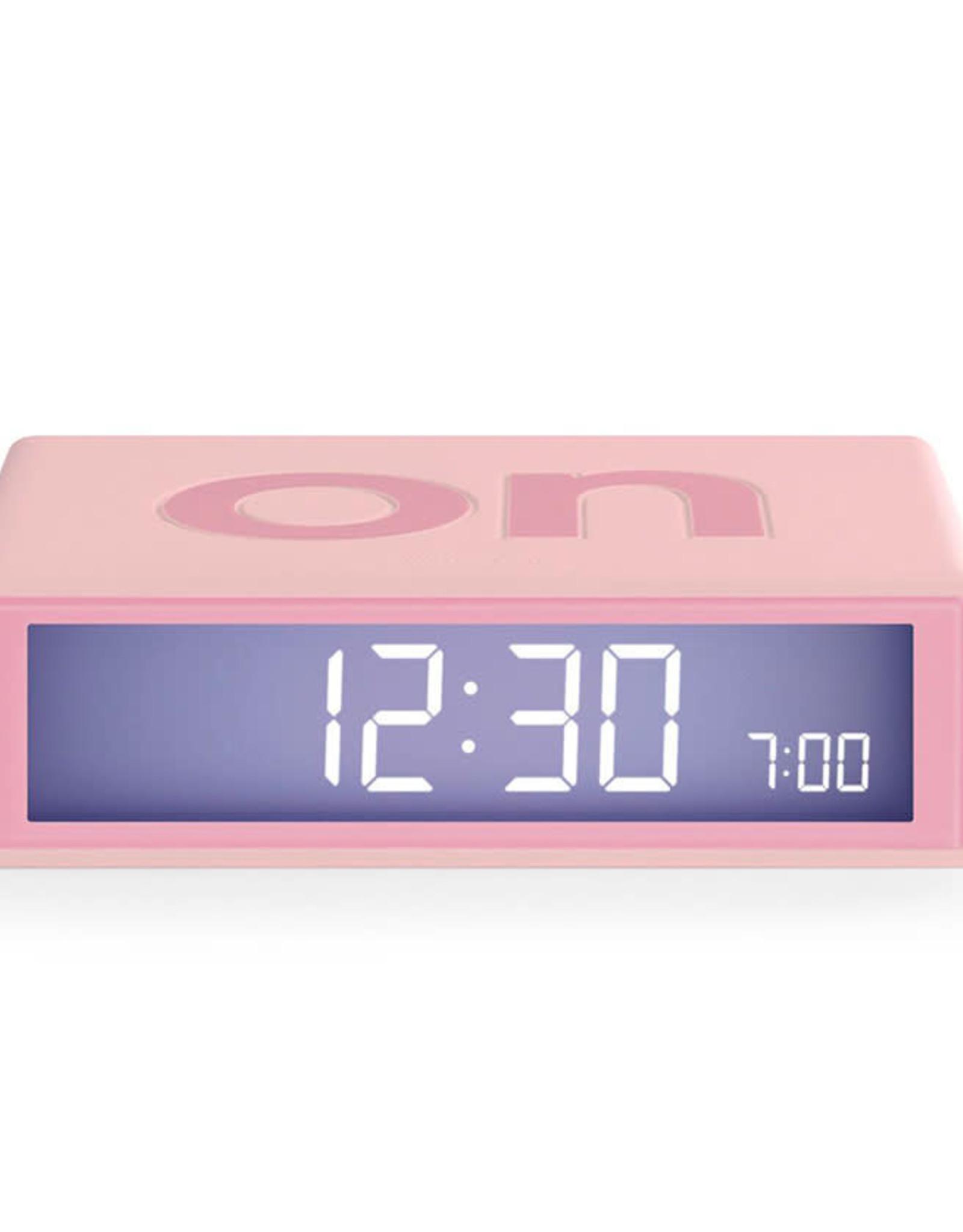 Lexon Flip wekker-roze