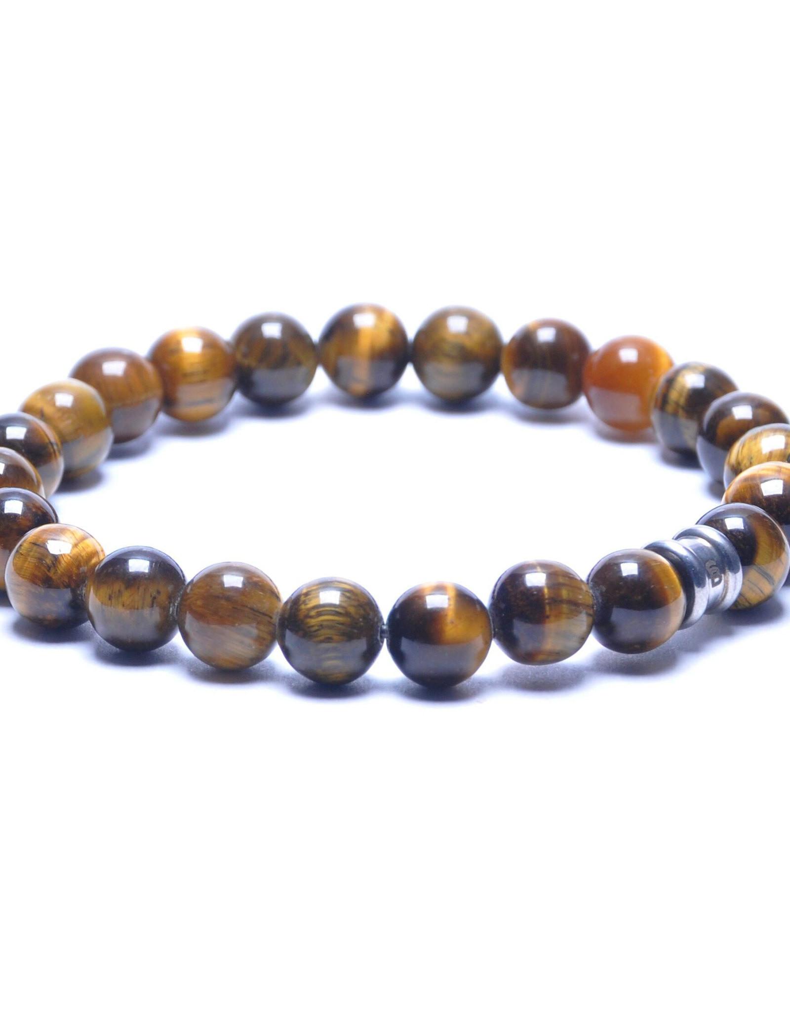 Steel & Barnett Men Bracelet Basic Stones-tiger