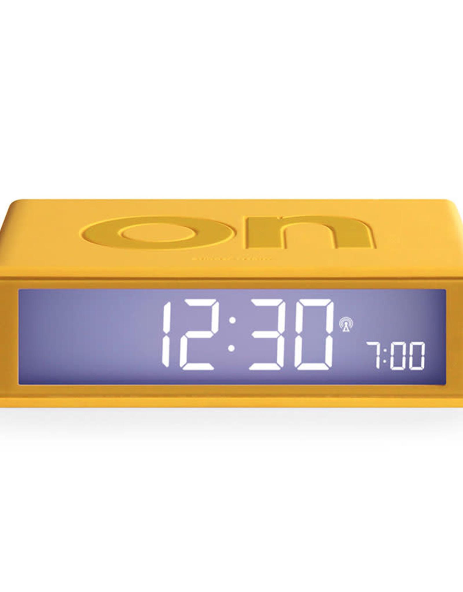Lexon Flip wekker-yellow