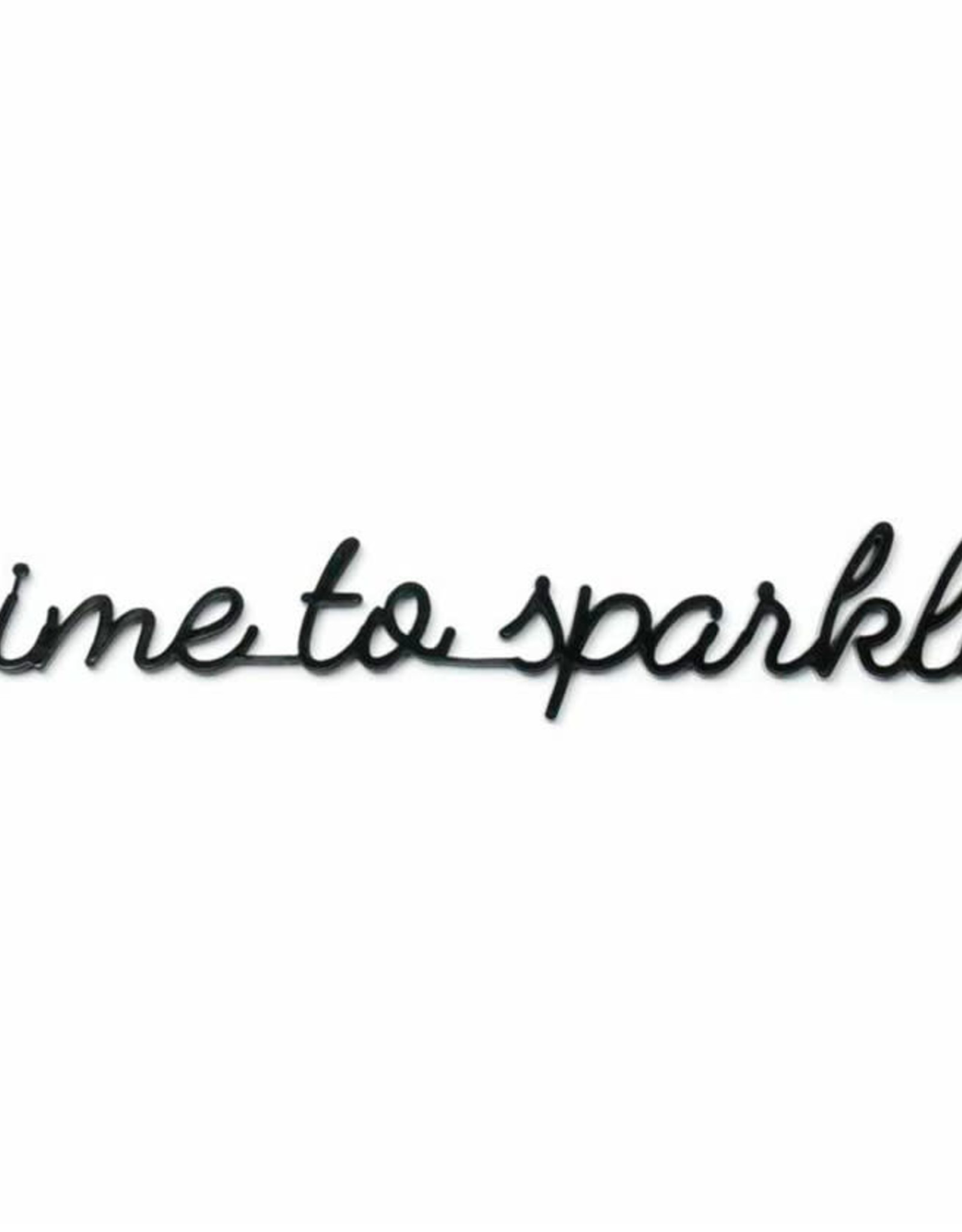 Goegezegd Quote Time to Sparkle-black