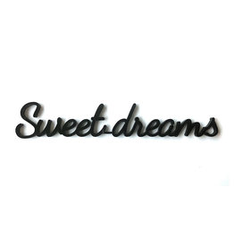 Goegezegd Quote Sweet Dreams-black