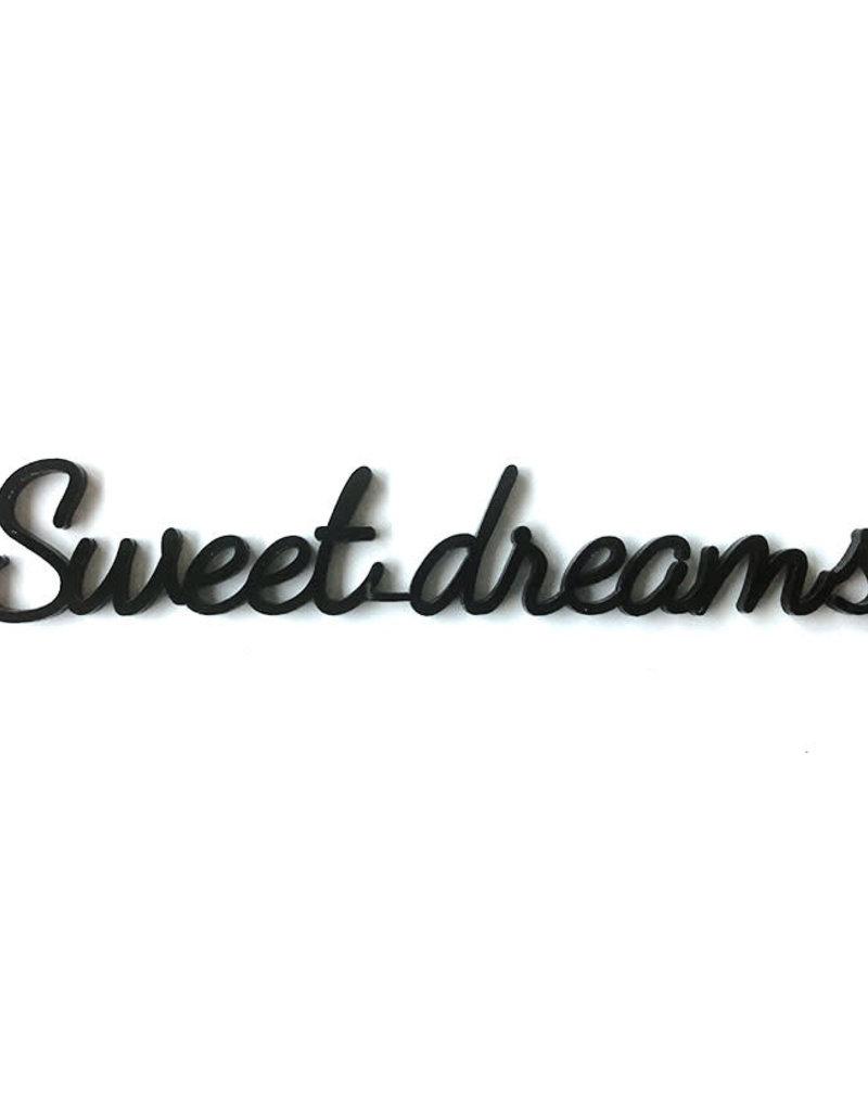 Goegezegd Quote Sweet Dreams-black
