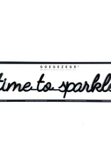 Goegezegd Magnetic Quote Time To Sparkle-black
