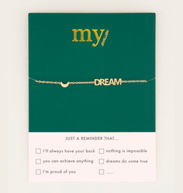 My Jewelry Armband Dream & Moon-gold