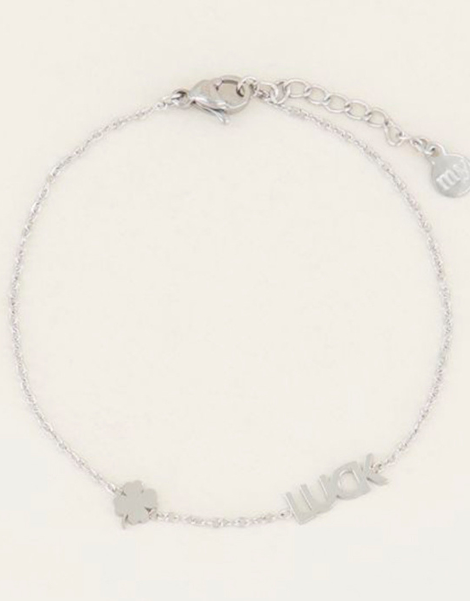 My Jewelry Armband Luck & Clover-silver