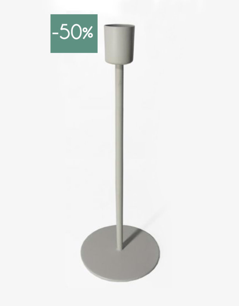Candle Holder Sprit 23cm-off white