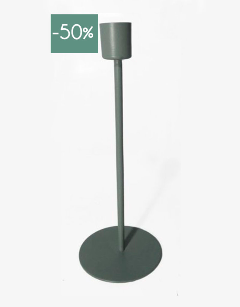 Candle Holder Sprit 23cm-green
