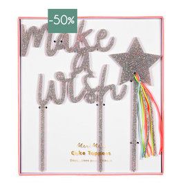 Meri Meri Cake Toppers-make a wish