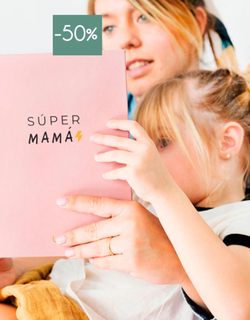 We are UO Notebook 'Super Mama'-rose