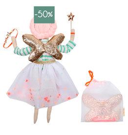 Meri Meri Dress-up kit Fairy doll-with bag 3pcs.