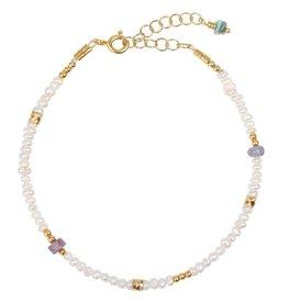 Jules Bean Armband Jules Bean Lilly Pearl-gold/pearls