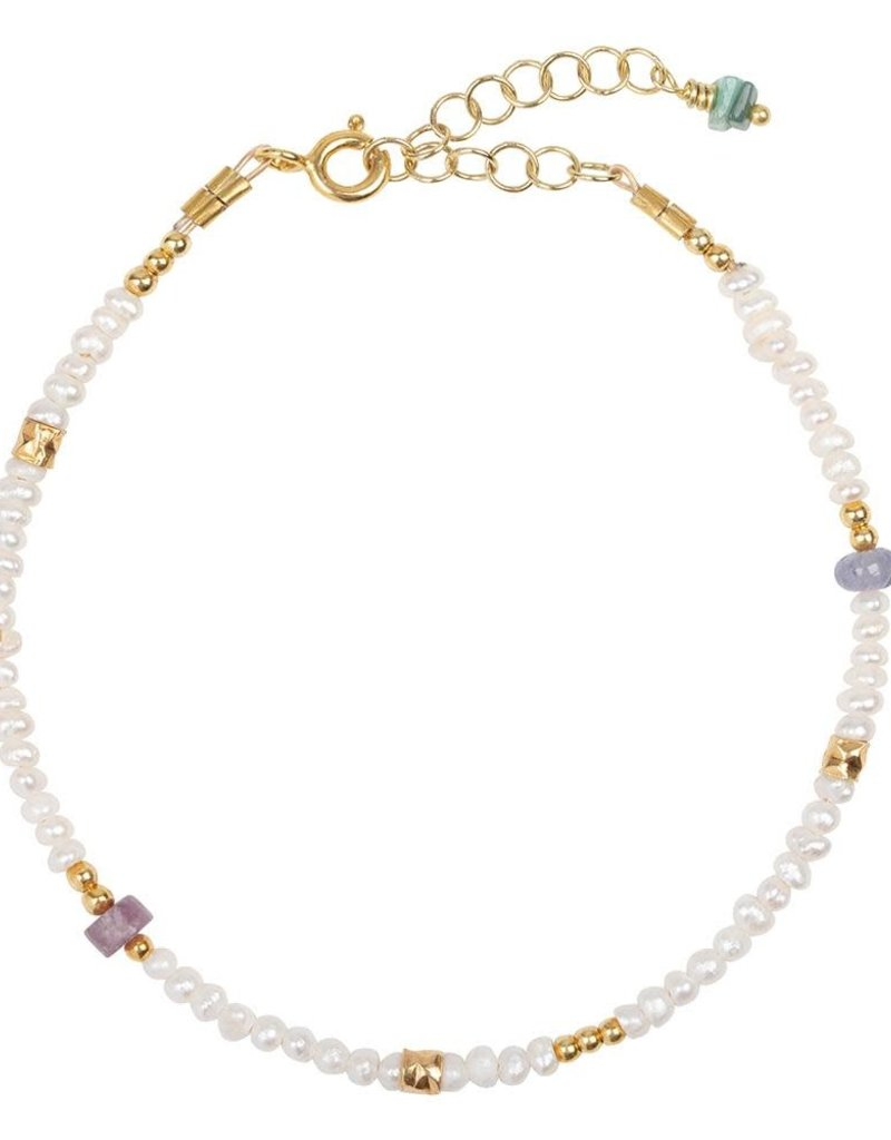 Jules Bean Armband Jules Bean Lilly Pearl-gold/pearls
