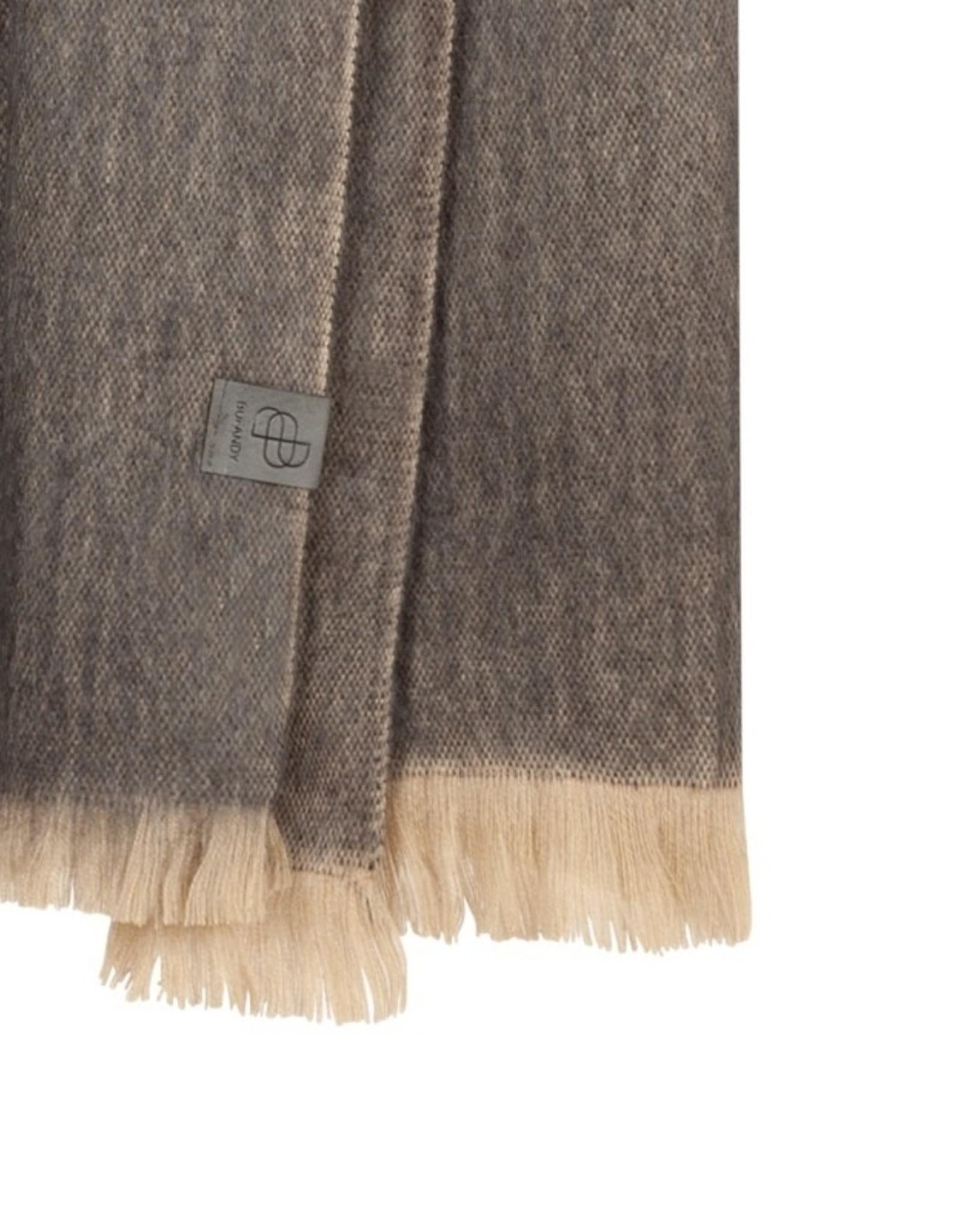 Bufandy Alpaca sjaal Fabian-warm stone