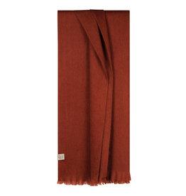 Bufandy Alpaca sjaal Fabian-brick red