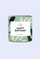The Gift Label Geurkaars small-Happy Birthday (jasmin/vanilla)