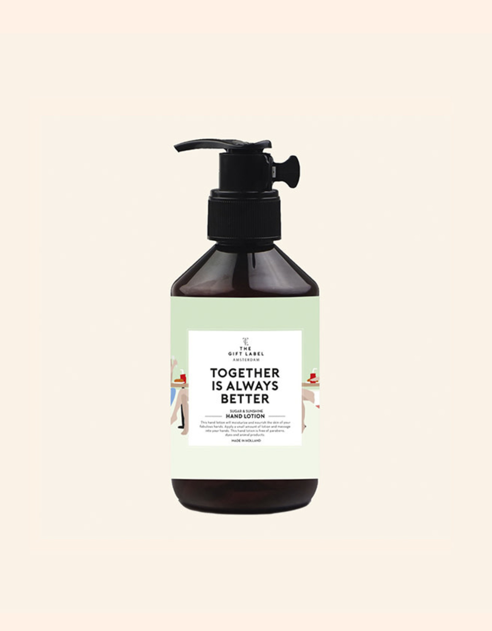 The Gift Label Handlotion-Together Is Always Better