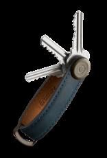 Orbitkey Orbitkey 2.0 Crazy Horse Leather-marine blue