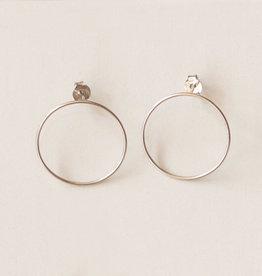 Jules Bean Oorbellen Mireille-sterling silver