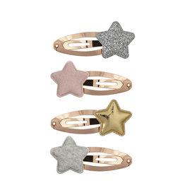 Mimi & Lula Haarspeldjes Star Tokyo-pastel glitter