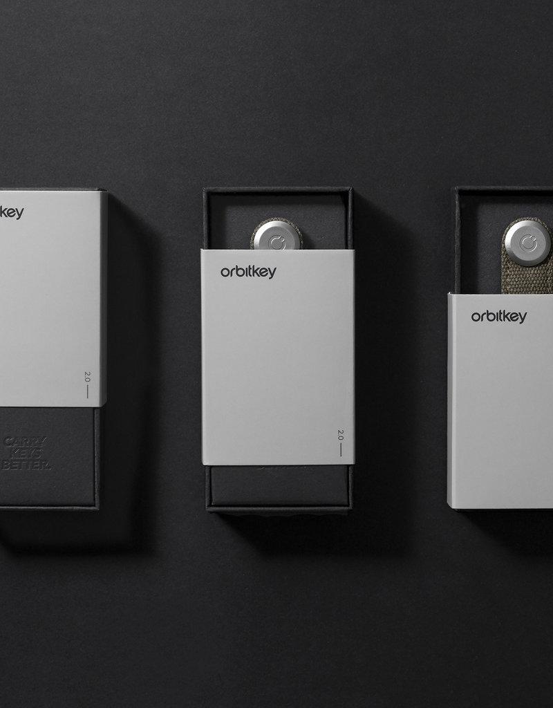 Orbitkey Orbitkey 2.0 Leather-stone grey
