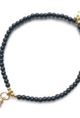 Jules Bean Armband Collectabean-black/soft coral/pearl