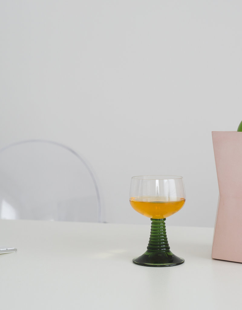 Atelier Pierre Facet Wijnkoeler-skin roze