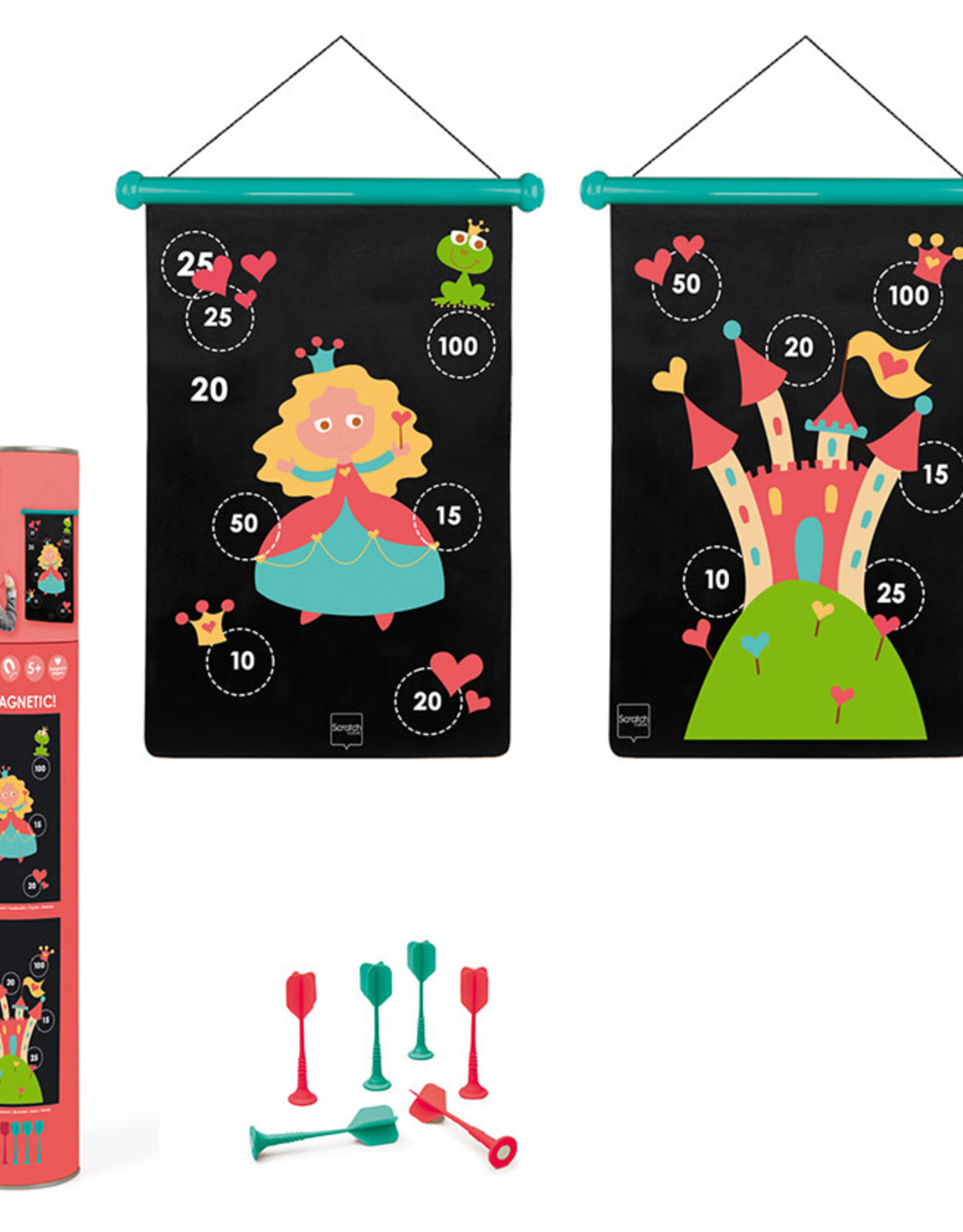 Magnetic Darts Game-prinses
