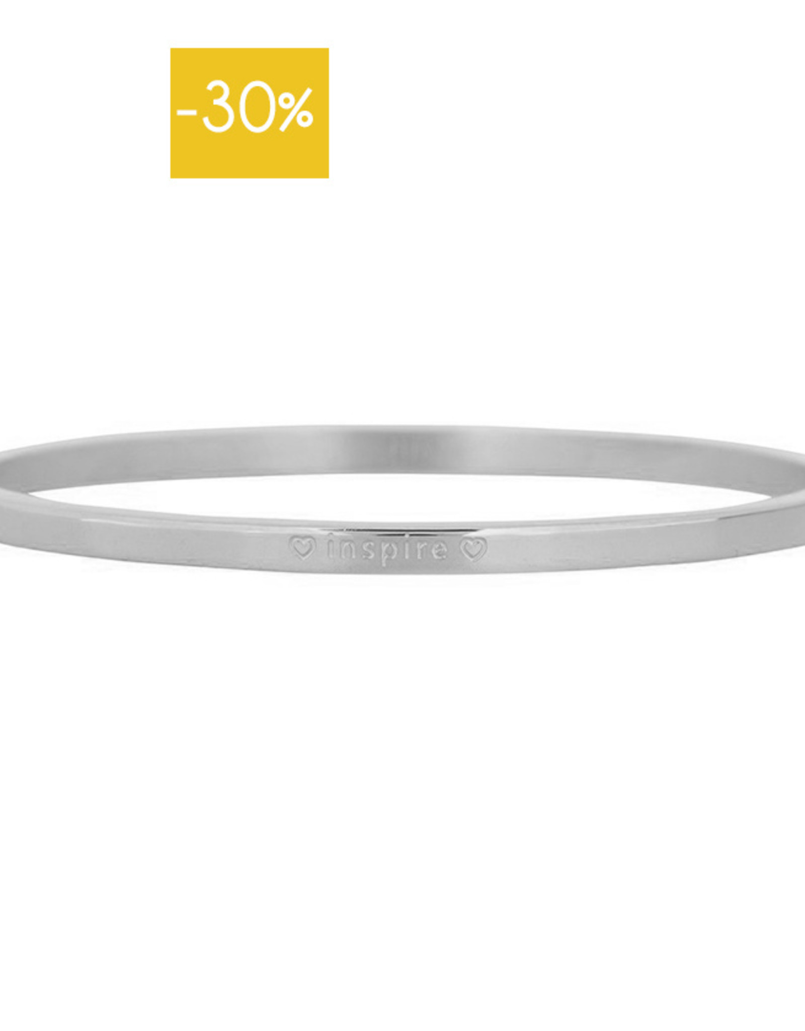 My Jewelry Bangle 3.0 'Inspire'-silver