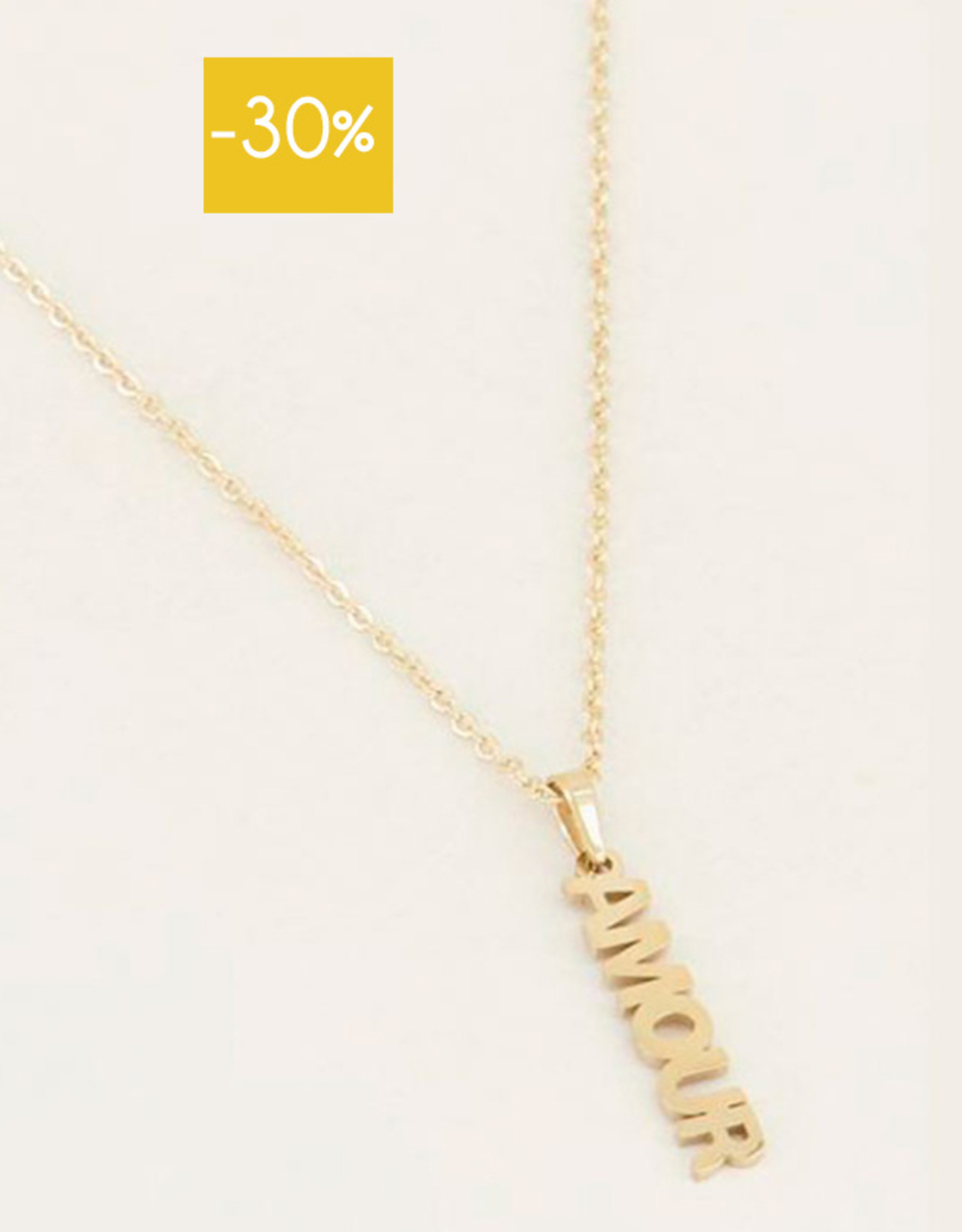My Jewelry Ketting Amour-gold