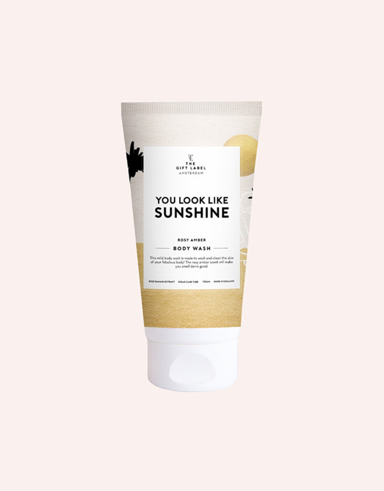 The Gift Label Body wash Summer-You look like sunshine