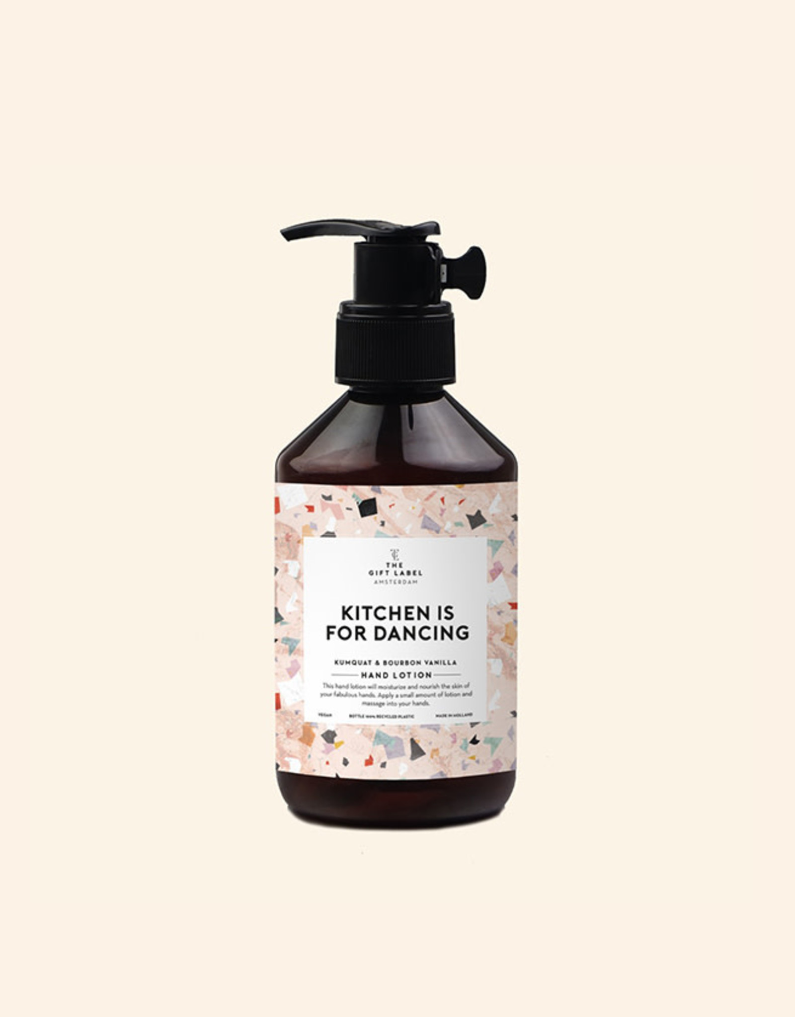 The Gift Label Handlotion-Kitchen is for dancing