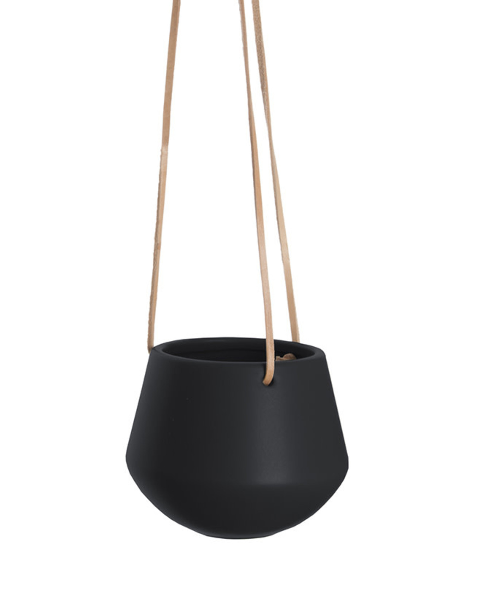 Hanging pot Skittle SMALL-black