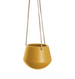 Hanging pot Skittle SMALL-ochre yellow