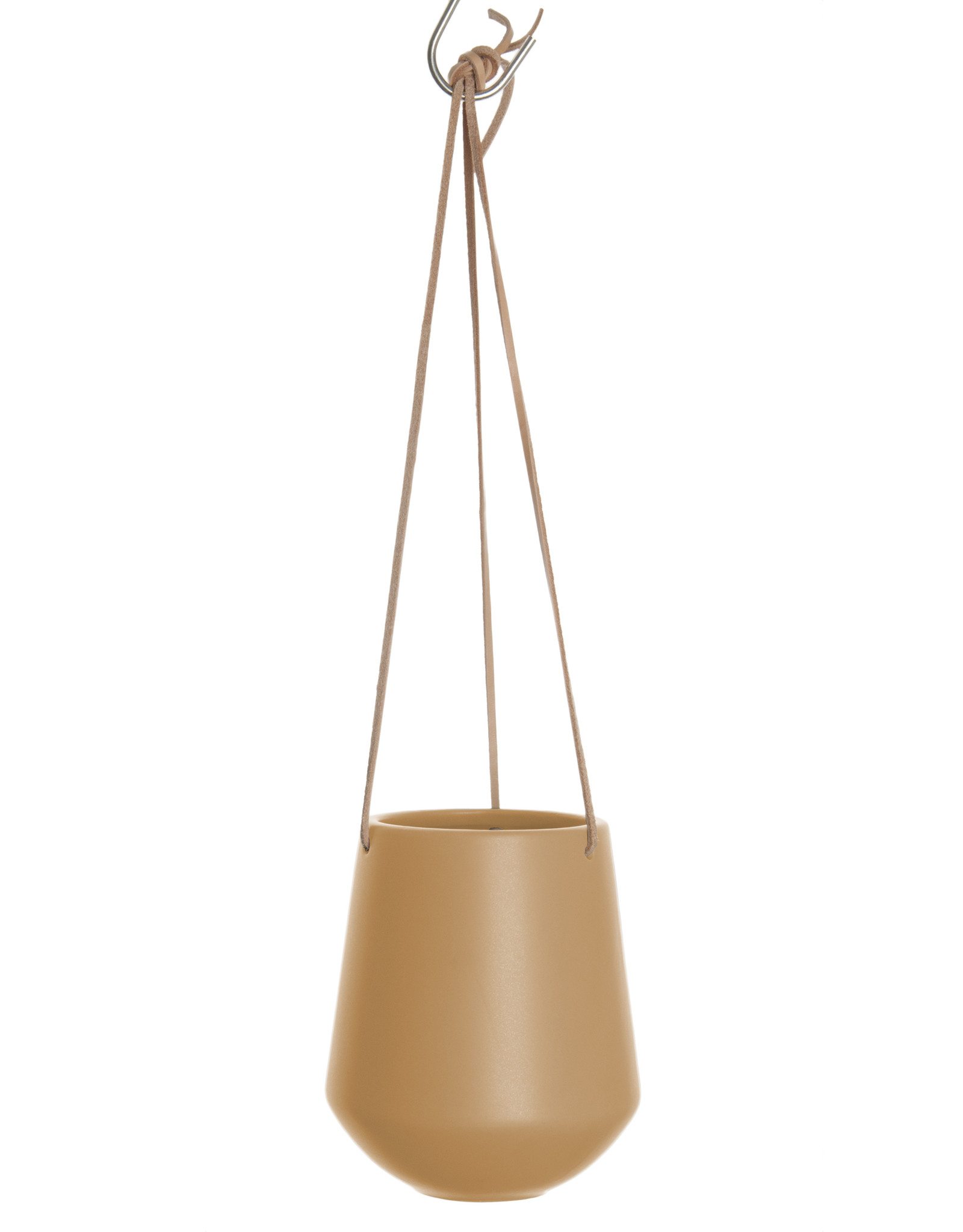 Hanging pot Skittle LARGE-sand brown