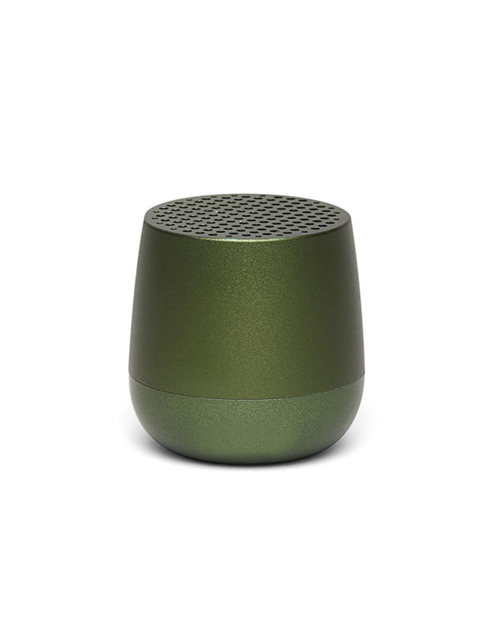 Lexon Mino geluidsbox-dark green