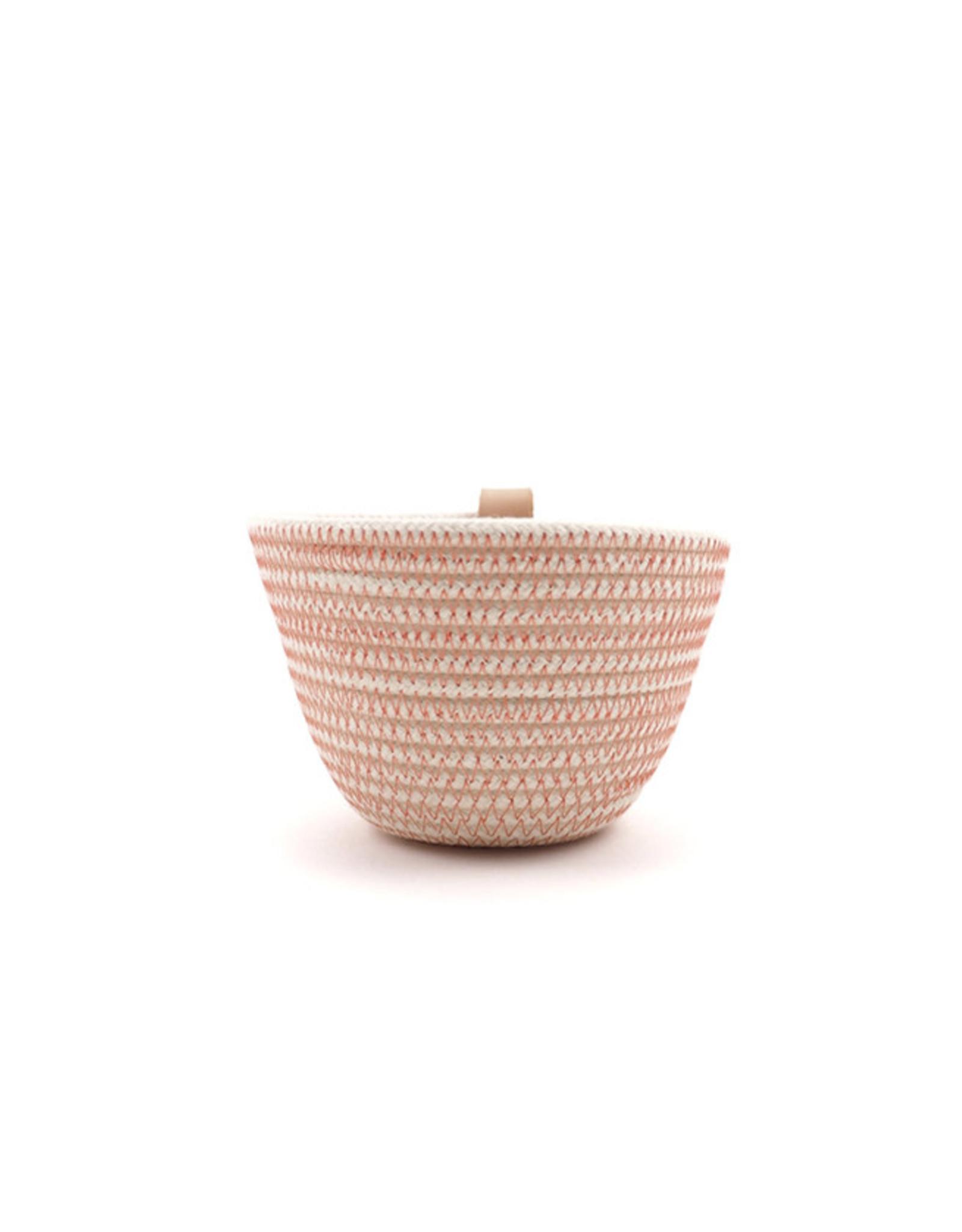 Koba Handmade Mini Bowl High-salmon 10x8cm