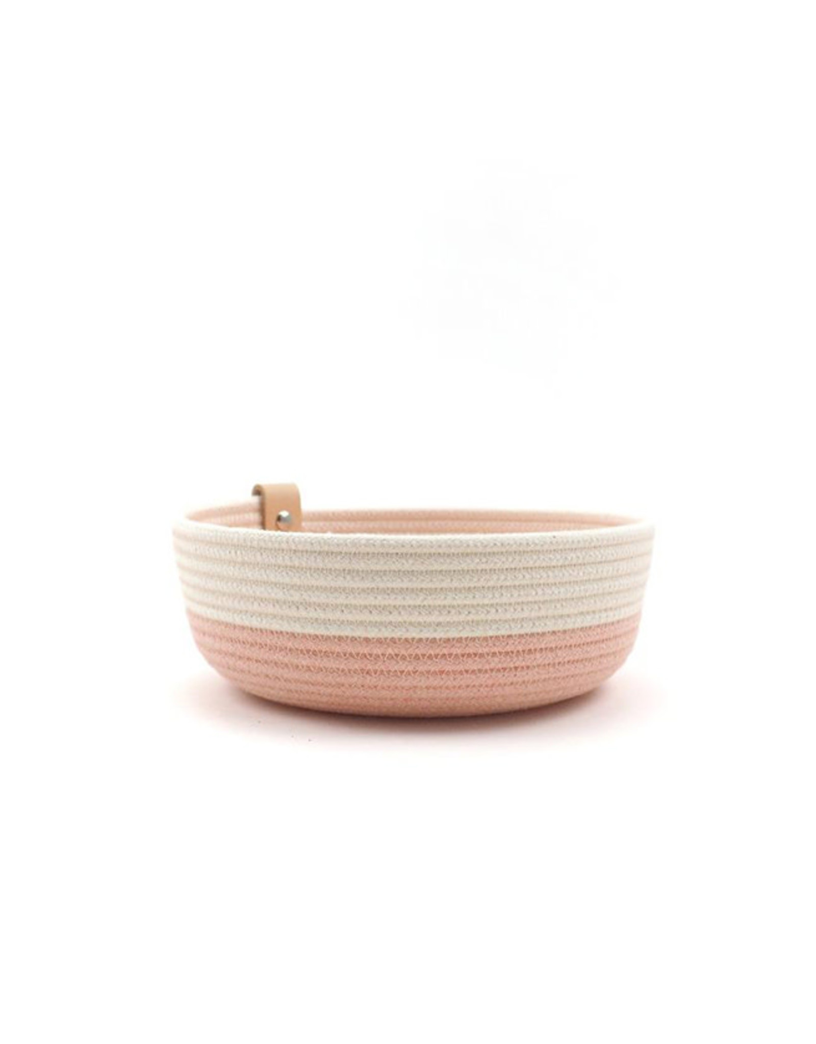 Koba Handmade Bowl Small Low-pastel rose 18x7cm