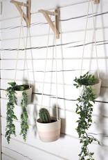 Koba Handmade Hanging Planter Medium-black 9x14cm