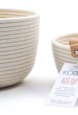 Koba Handmade Bowl Small Low-ecru 18x7cm