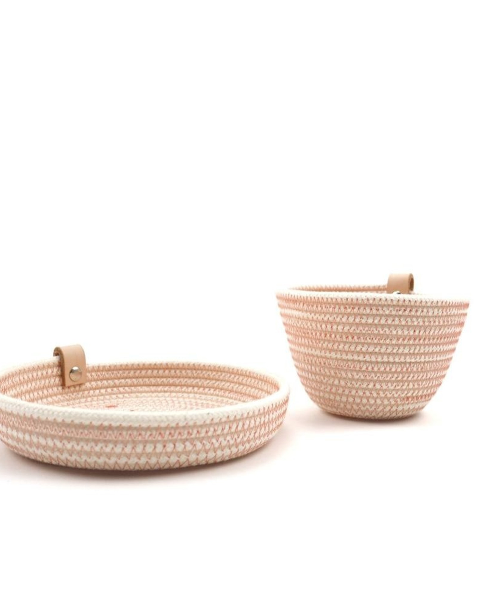 Koba Handmade Mini Bowl Low-salmon 15x2cm